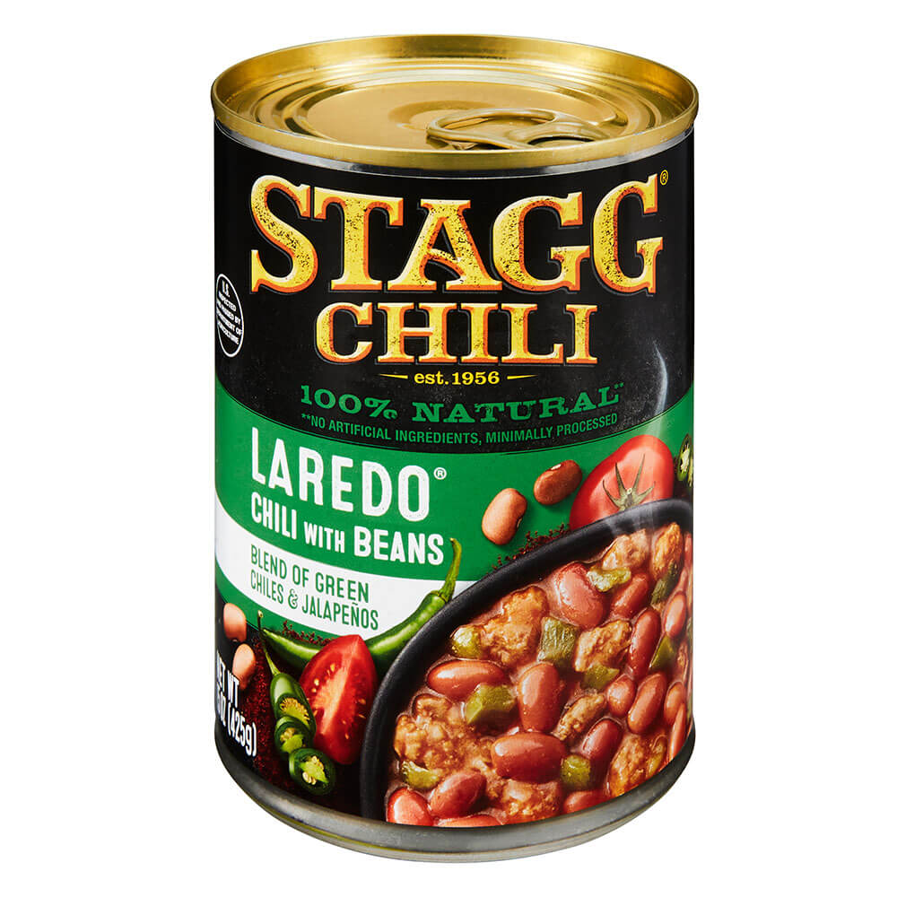 Stagg Laredo Chili with Beans, 15 Ounce