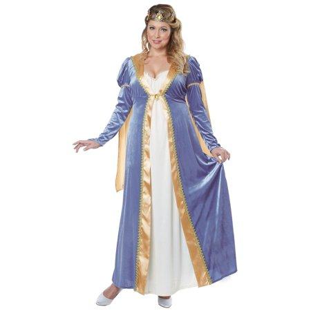 Elegant Empress Plus Costume](Ladies Halloween Costumes Size 16-18)