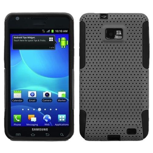 Insten Grey/Black Astronoot Phone Case for SAMSUNG: I777 (Galaxy S II)
