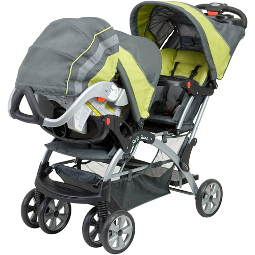 Baby Trend - Sit N Stand Double Stroller, Carbon - Walmart.com