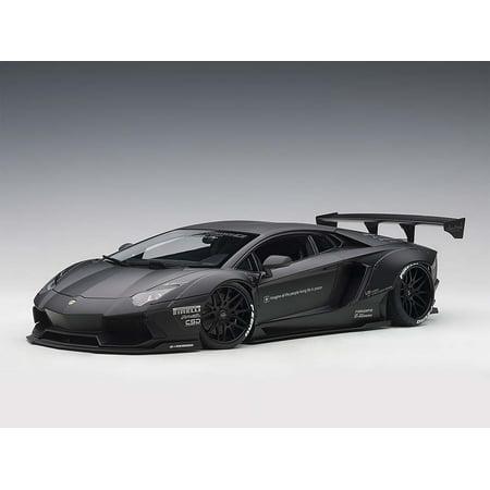 Lamborghini Aventador LB-Works Matt Black 1/18 Model Car by (Lamborghini Best Car Ever Made)