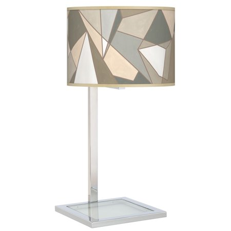 (Giclee Gallery Modern Mosaic I Glass Inset Table Lamp)