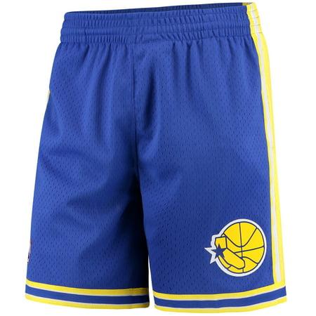 Mitchell   Ness - Golden State Warriors Mitchell   Ness Hardwood Classics  Swingman Shorts - Royal - Walmart.com 7c94c1e8d