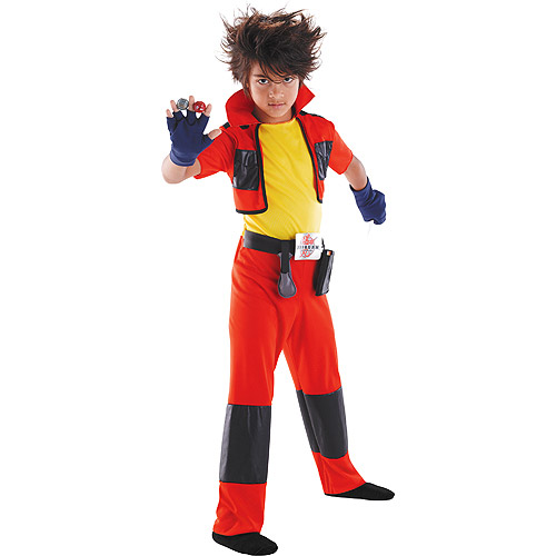 Classic Child Size Large Bakugan Dan Kuso Costume 10-12 Kids Show Inspired Character Outfit for Kids