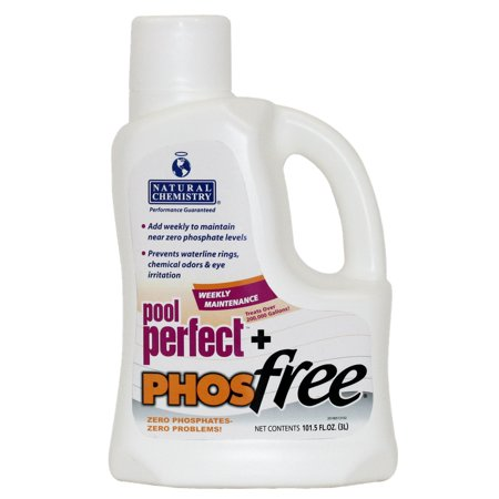 Natural Chemistry 05131 Spa Swimming Pool Perfect Plus PHOSfree, 3 Liters (Natural Chemistry Pool Perfect)