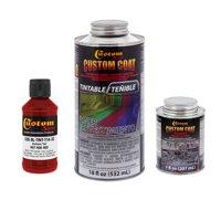 Custom Coat HOT ROD RED 0.21 Gallon Urethane Spray-On Truck Bed Liner Kit