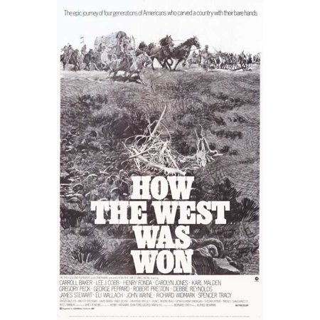 Won Halloween (How the West Was Won POSTER Movie Mini)