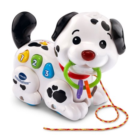 VTech, Pull and Sing Puppy, Baby Learning Toy, Floor Play