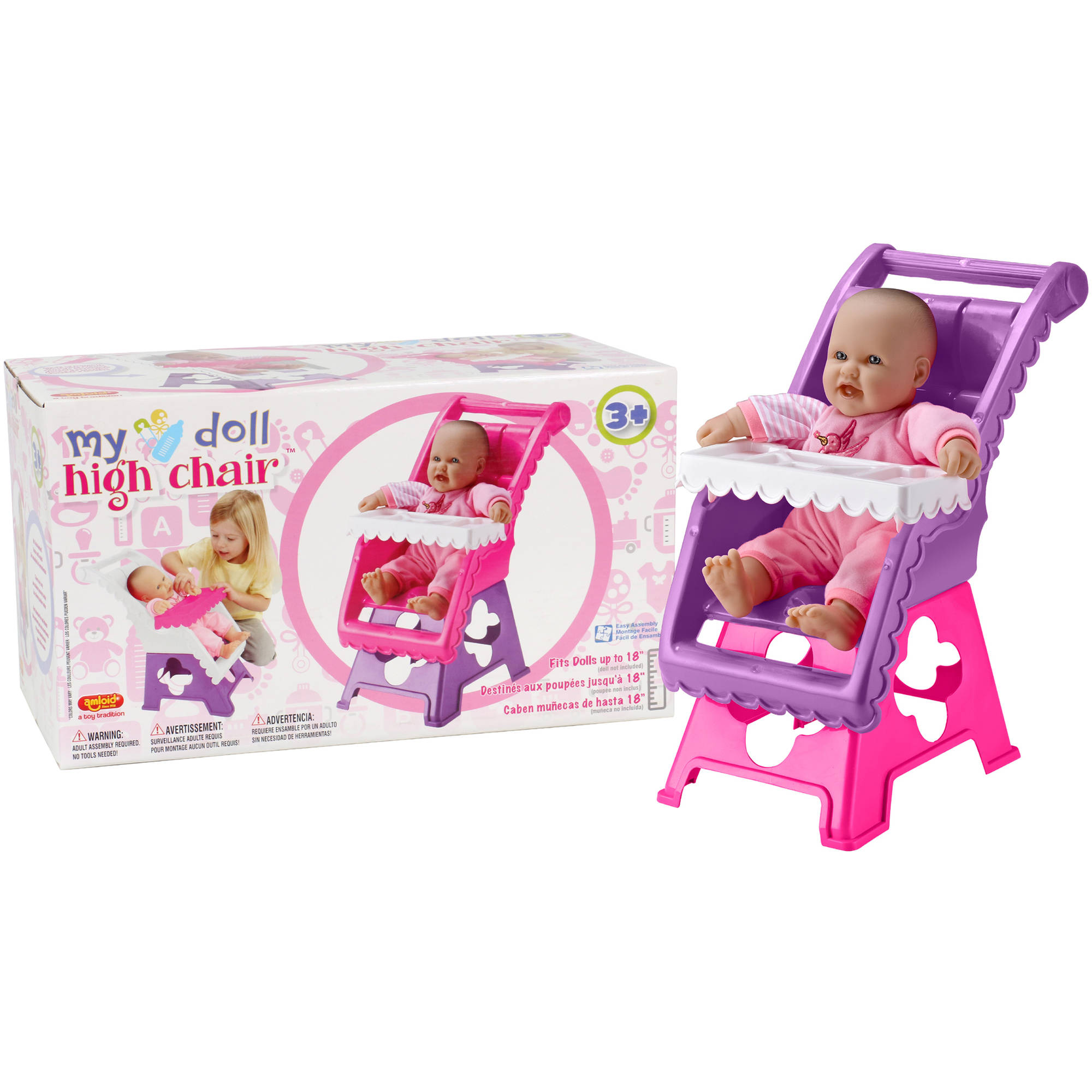 Amloid My Doll High Chair Walmart