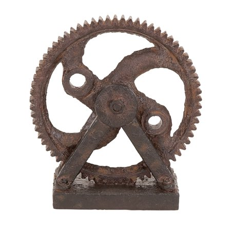 Other Decor - Industrial Style Rusted Gear Decor