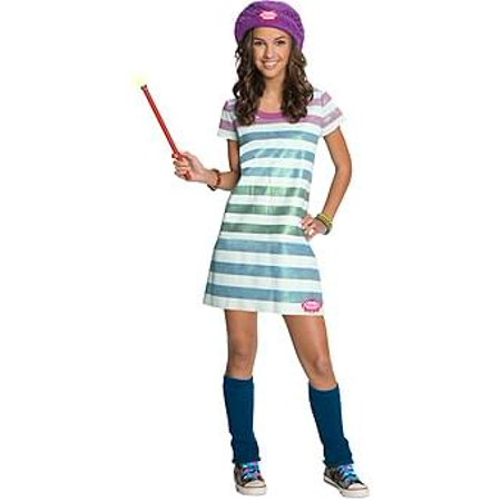Wizards Of Waverly Place Alex Striped Witch Costume Child