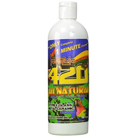 1 X ALL NATURAL Formula 420 Pipe Cleaner - Cleans - Glass, Pyrex, Metal, Ceramic 16