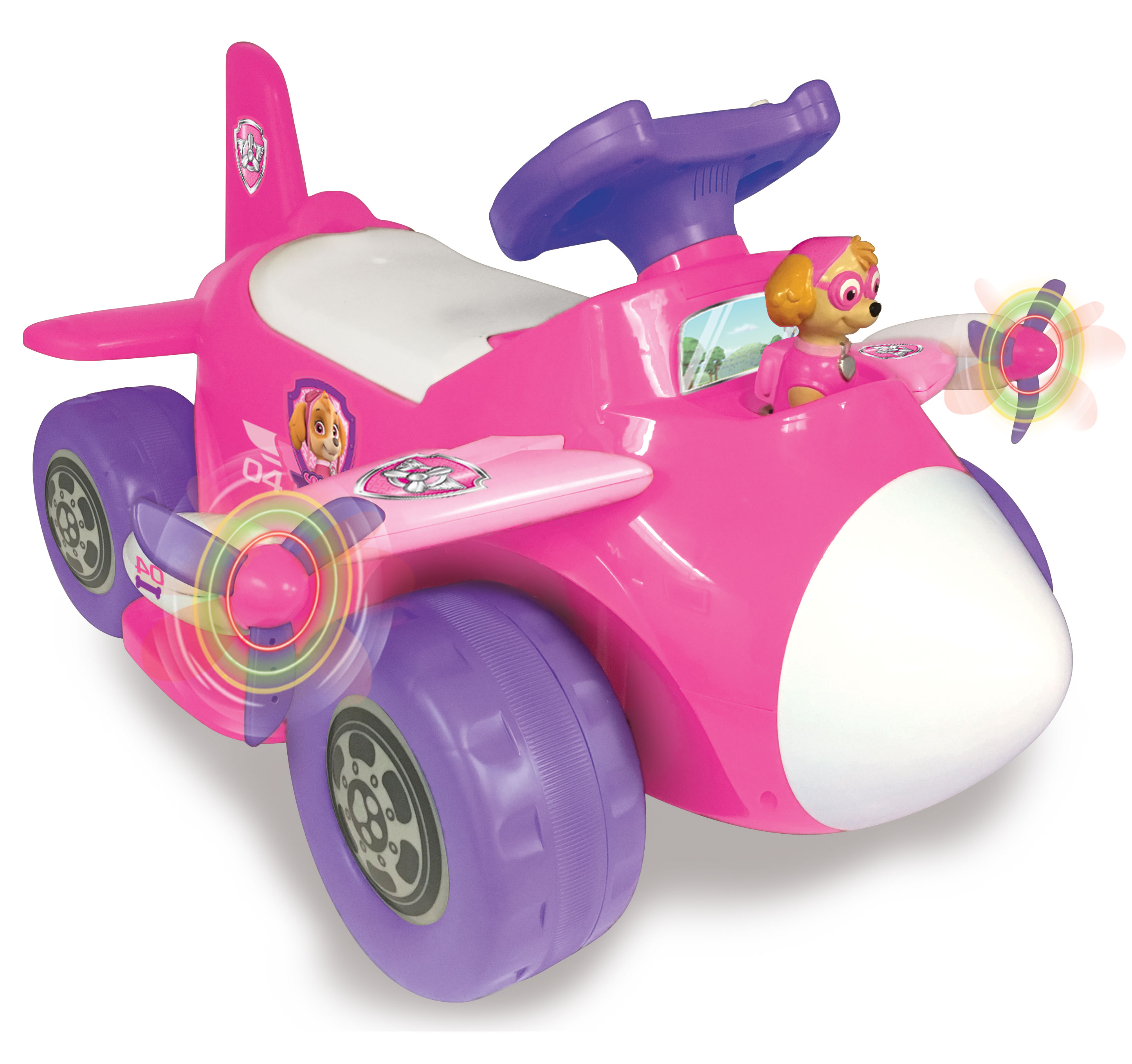 Nickelodeon Paw Patrol Skye 6- Volt Powered Plane Ride On