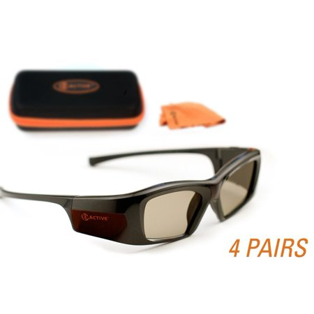 SAMSUNG-Compatible 3ACTIVE 3D Glasses. Rechargeable. MULTI-PACK - 3 D Glasses
