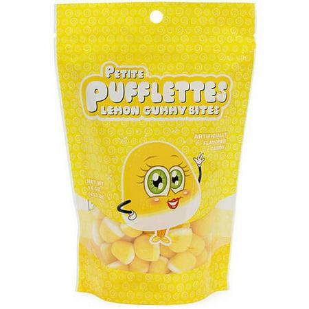 Petite PUFFLETTES Lemon gommeux morsures, 16 oz
