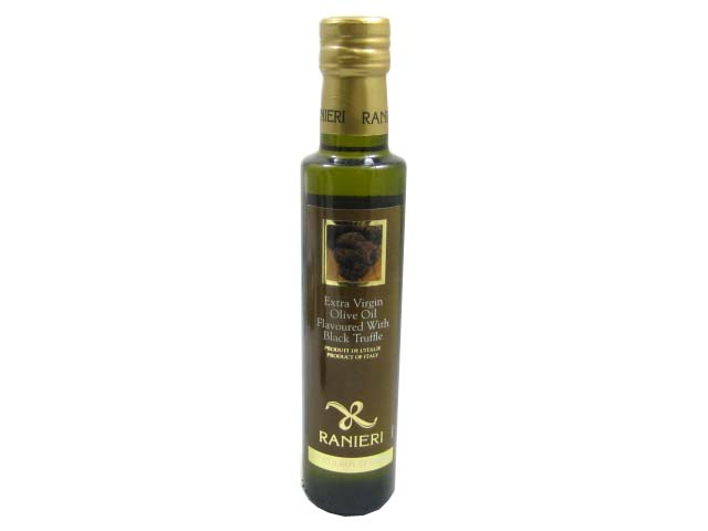 Black Truffle Oil (Extra Virgin Olive Oil Infused With Black Truffle) By Ranieri by