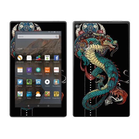 Skins Decals For Amazon Fire Hd 8 Tablet / Dragon Japanese Style