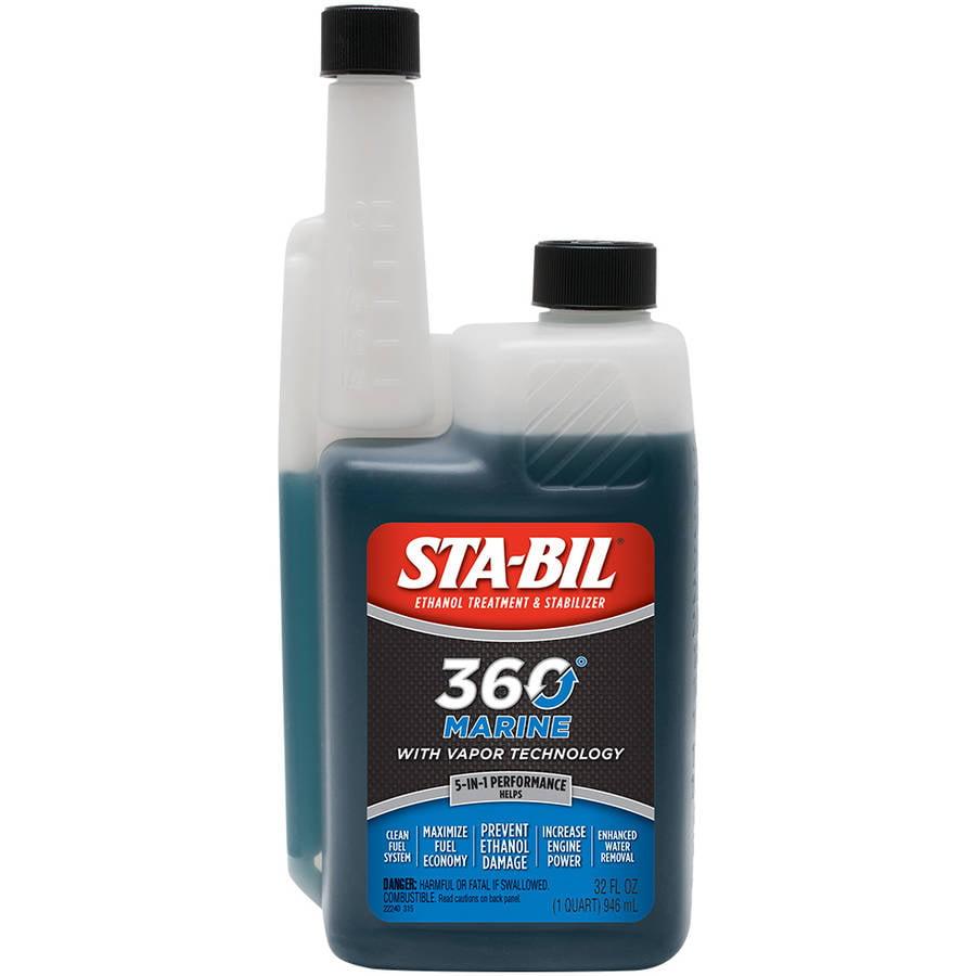 STA-BIL (22240) 360 Marine Protection and Ethanol Treatment, 32 oz.