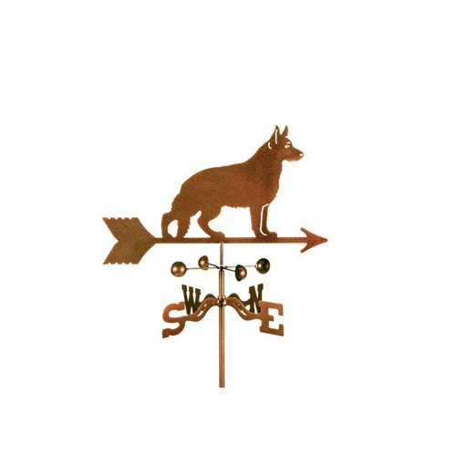 EZ Vane Inc German Shepherd Weathervane by