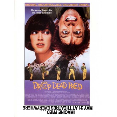 Drop Dead Fred (1991) 11x17 Movie - Anti Halloween Posters Uk