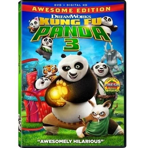 Kung Fu Panda 3 (DVD + Digital Copy) (With INSTAWATCH)