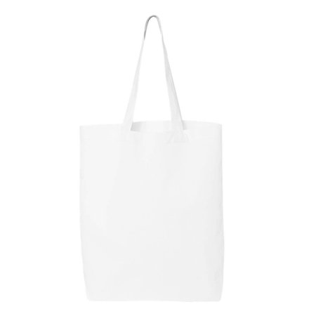 Q-Tees QTBG Shopping Bag Unisex Adult 117L Economical Gusseted ()