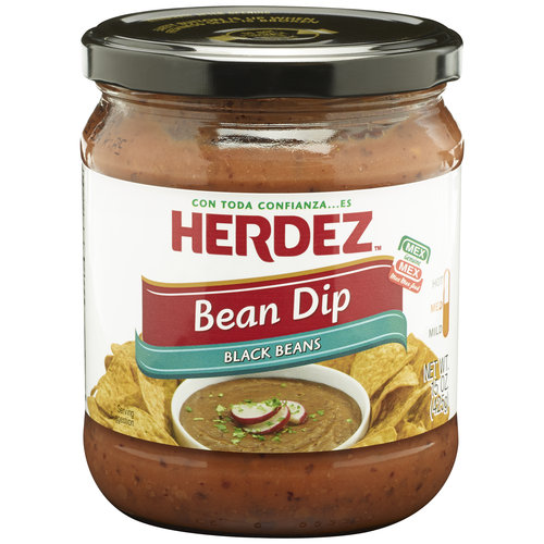 Herdez Black Beans Bean Dip, 15 oz