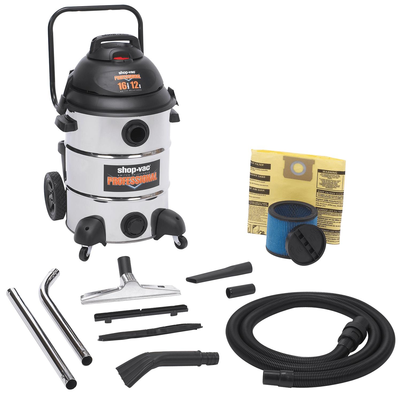 Vacuum Professional 16 Gallon SS