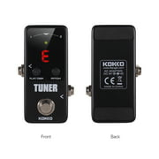 KOKKO FTN2 MINI Chromatic Guitar Tuner Pedal with LED Display True Bypass Guitar Effects Pedal for Music Instrument Accessories