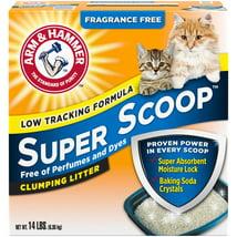 Cat Litter: Arm & Hammer Super Scoop