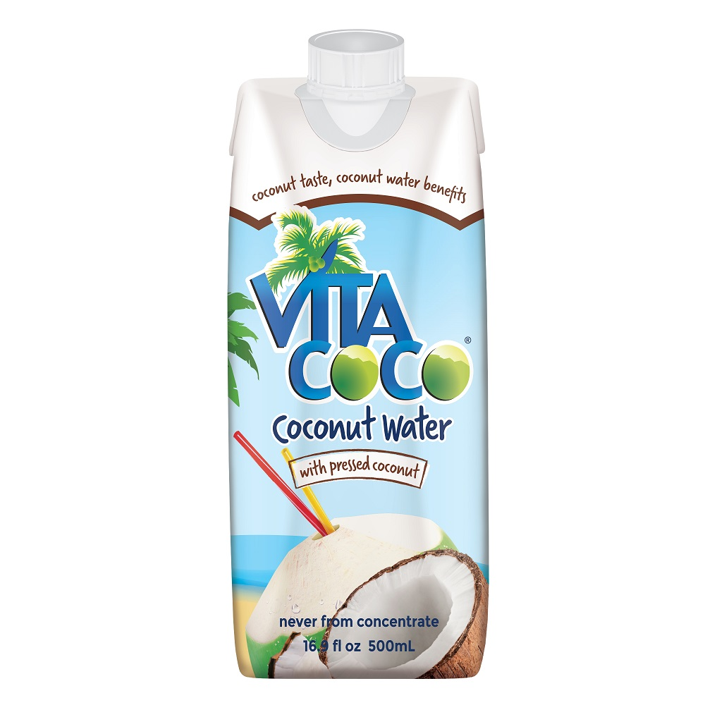 Vita Coco Pure Coconut Water with Pressed Coconut 16.9 fl oz