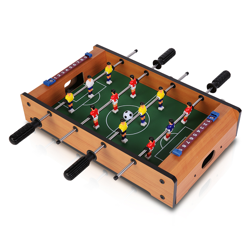 Virhuck Tabletop Foosball Table- Portable Mini Table Football   Soccer Game Set with Two... by Virhuck