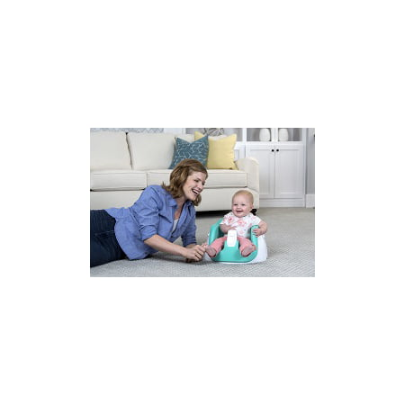 Activity Seat - Regalo Award Winning Grow with Me Floor Seat and Activity Chair with Removable Feeding Tray, Teal