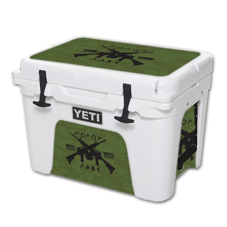 MightySkins Protective Vinyl Skin Decal for YETI Tundra 35 qt Cooler wrap  cover sticker skins Molon Labe
