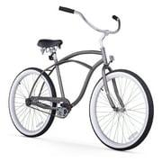 Firmstrong Urban Man Single Speed Beach Cruiser Bicycle, 26-Inch,Matte Grey
