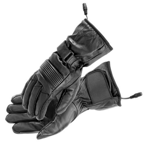 Firstgear Heated Rider Gloves - Large/Black 951-2809