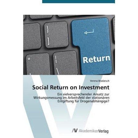 Social Return On Investment By Bradatsch Verena 9783639679205