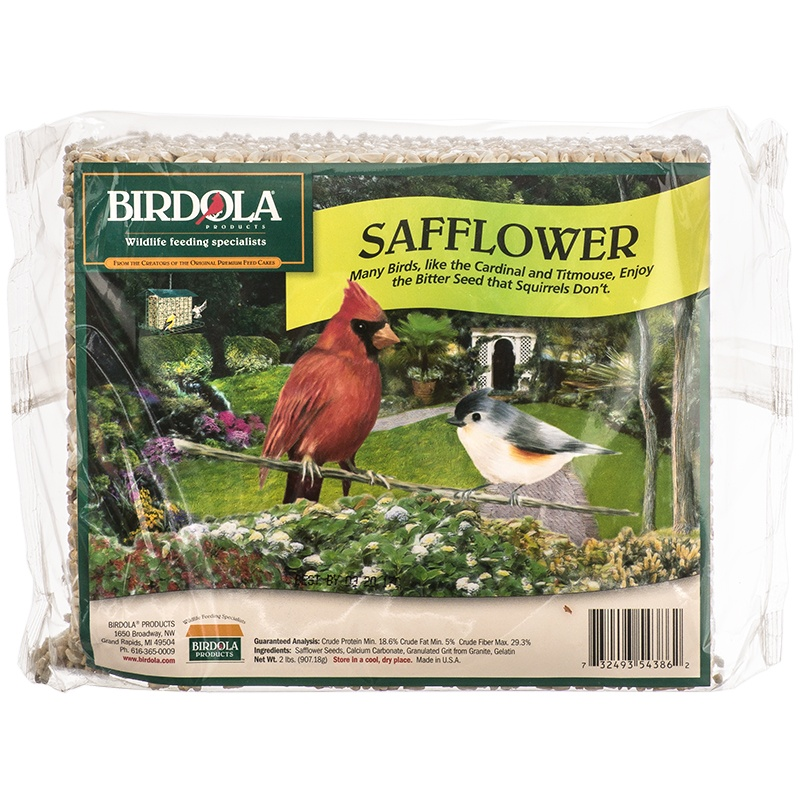 Birdola Safflower Seed Cake, No. 54386,  by United Pet Group