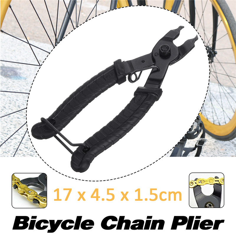Bike Bicycle Open Close Chain Magic Buckle Repair Master Link Plier Removal Tool