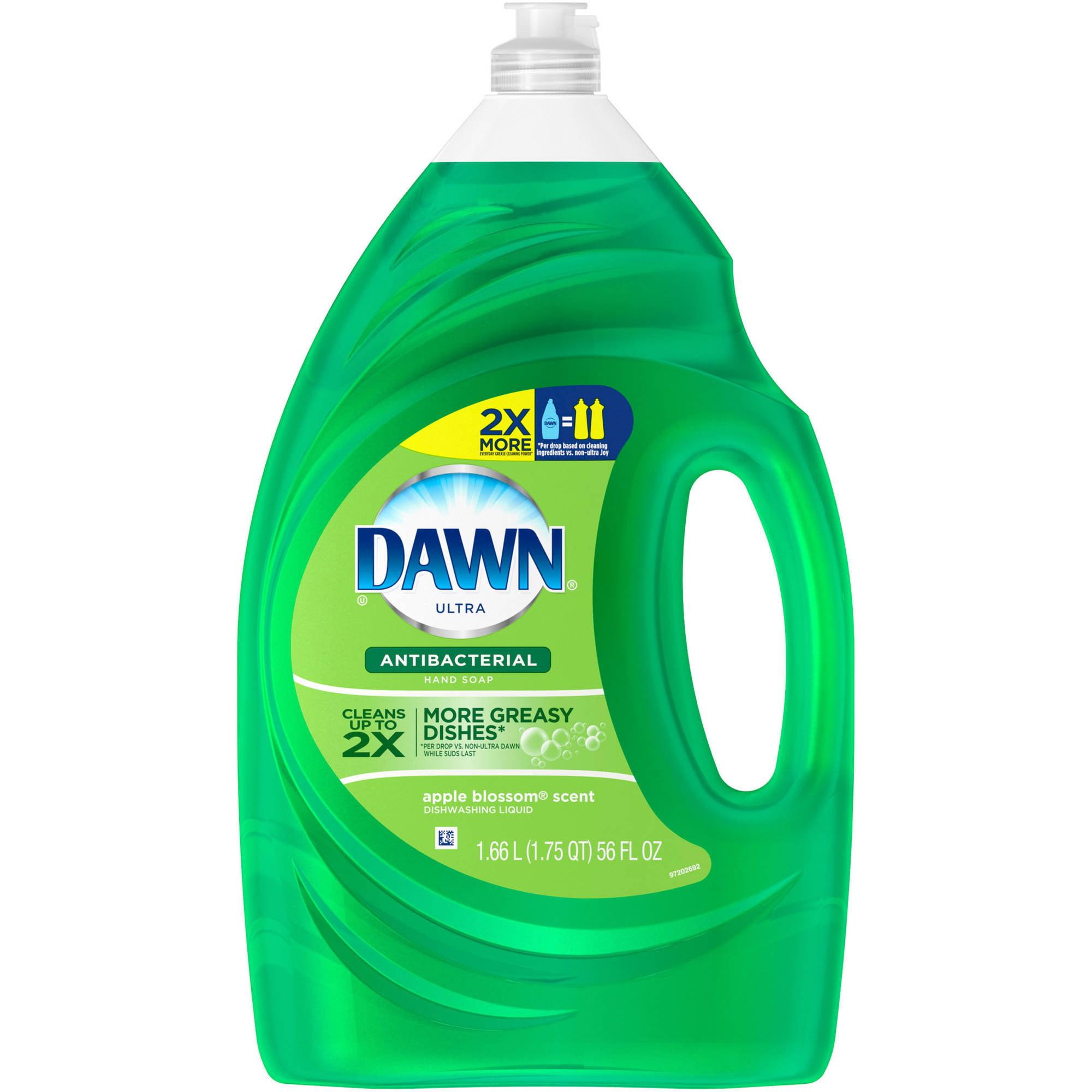 Dawn Ultra Antibacterial Dishwashing Liquid Apple Blossom (choose your size)