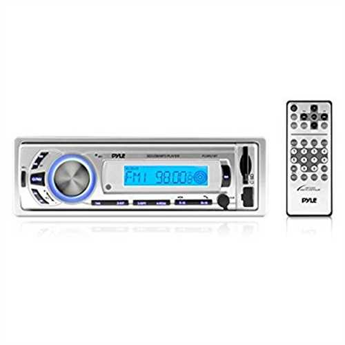Refurbished Pyle PLMR21BT Bluetooth Radio Receiver Head Unit Dashboard Console Stereo