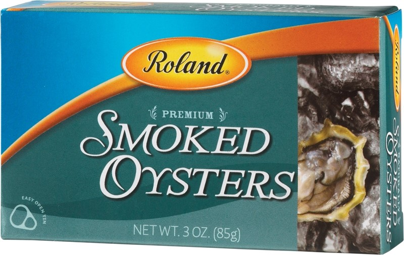 Roland Canned Premium Smoked Oysters, 3 Oz by Roland Corporation