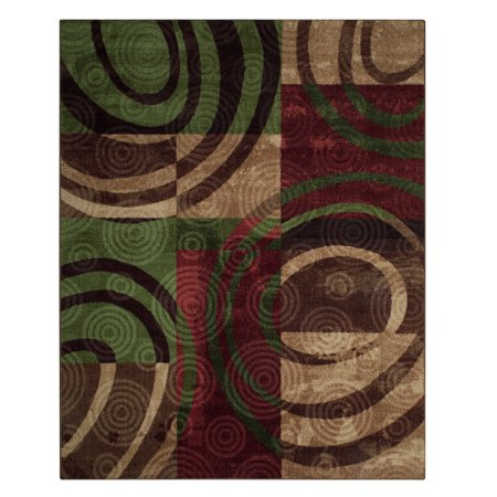 Better Homes & Gardens Cameron Textured Print Area Rugs or Runner, Multi, 8' x 10' ()