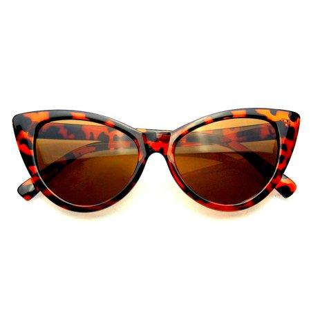 050fc65537e6 Emblem Eyewear - Womens Fashion Hot Tip Vintage Pointed Cat Eye Sunglasses  - image 2 of ...