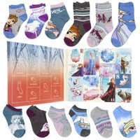 12-Pack Disney Frozen 2 12 Days of Frozen Socks