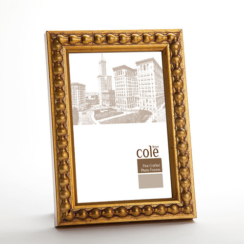 Philip Whitney Large Bead Leaf Picture Frame