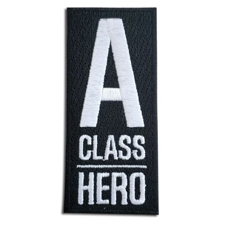 One Punch Man A-Class Hero Patch](Hero Punch)