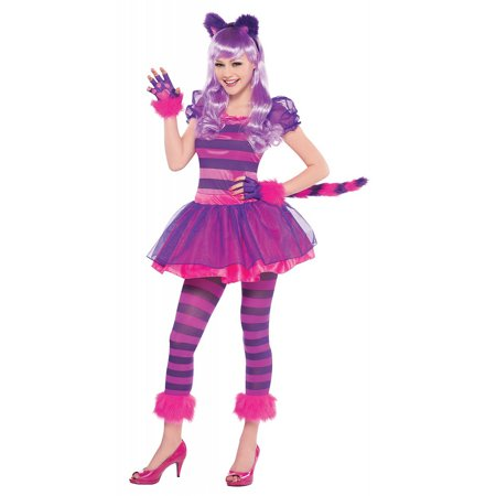 Cheshire Cat Teen/Junior Costume - Teen Medium](Cat Teen Costume)