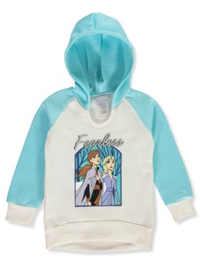 Disney Frozen Girls' Fearless Pullover Hoodie