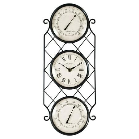 FirsTime Bronze Allegri Outdoor Clock
